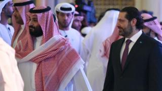 الحريري وولي العهد السعودي