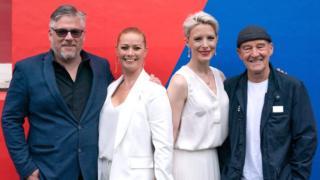Kathleen McDermott & Shauna MacDonald with Stephen McCole and David Hayman