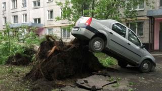 Ураган в Москве