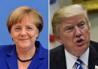 Меркель і Трамп