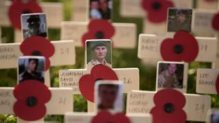 Garden of Remembrance at Lydiard Park