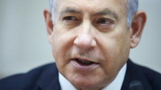 File photo of Israeli Prime Minister Benjamin Netanyahu (30 June 2019)