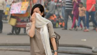 दिल्ली, प्रदूषण, वायू प्रदूषण