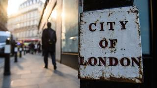 City of London street sign