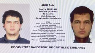 Ордер на арест Аниса Амри