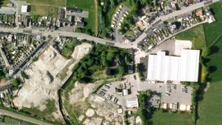 Google map of Whitland