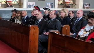 Prince Edward at the Bradford synagogue