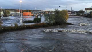 River Don at Rotherham