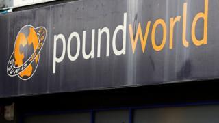 Poundworld shop front