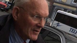 Roger Whitehouse outside Carlisle Crown Court