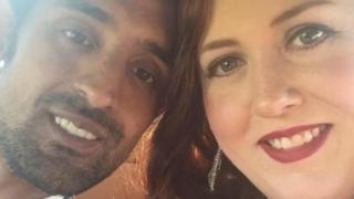 Adnan Asif ve eşi Jennifer