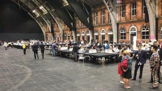 Count at Manchester Central