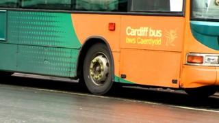Cardiff Bus vehicle