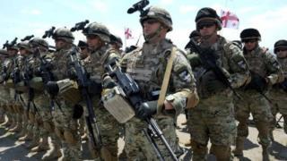 Gürcü askerler