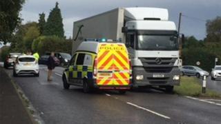 Cranbrook crash scene