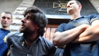 Rafael Lusvarghi detido por nacionalistas ucranianos