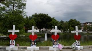 Мемориал в Орландо