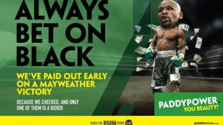 Banned Paddy Power Ad