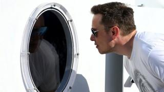 Elon Musk and hyperloop tunnel