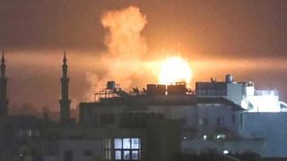 गज़ा पर इसराइली हमला