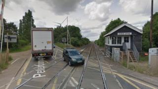 King's Dyke level crossing