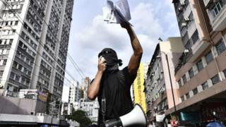 Протести в Гонконзі