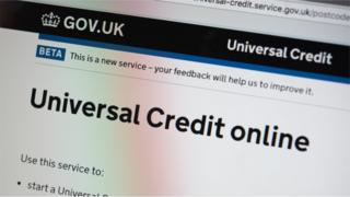 Government information on universal credit