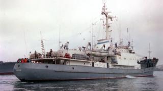 """Исследовательское судно Черноморского флота """"Лиман"""""""