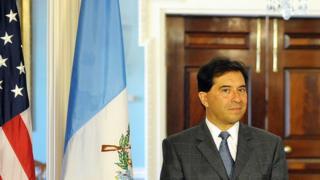 Harold Caballeros López, ex canciller de Guatemala (2012-2013) en el Departamento de Estado de EE.UU.