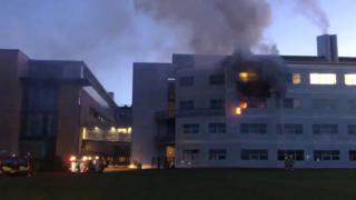 Fire at St Andrews