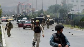 Нападение на парламент в Кабуле