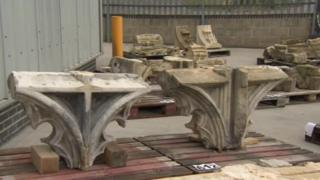 Stonework to be auctioned