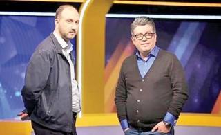 رضا رشیدپور و علی فروغی، مدیر شبکه سه