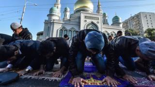 Muçulmanos em Moscou
