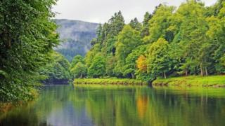 The River Tay in Dunkeld