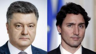 Петро Порошенко і Джастін Трюдо