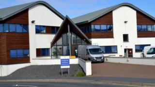 Headquarters of Shetland Islands Council