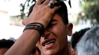 गज़ा, फ़लस्तीन, इसराइल, हिंसा