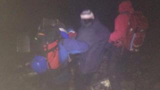 Rescue on Ben Nevis