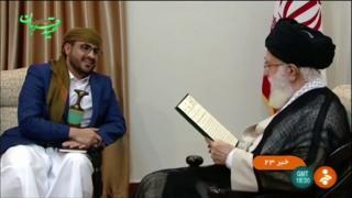 دیدار معنیدار رهبر ایران با نماینده حوثیهای یمن