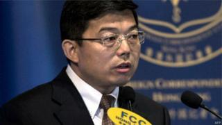 北京政府在香港联络办公室的法律部部长王振民