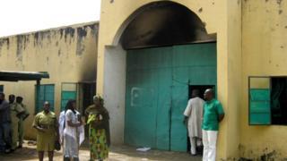 La prison de Bauchi dans le nord du Nigéria, où 173 prisonniers ont été libérés en 2010 par Boko Haram (illustration).