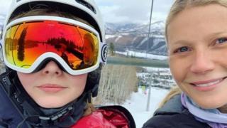 Gwyneth Paltrow ve kızı Apple