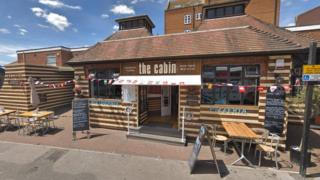 The Cabin cocktail bar in Poole
