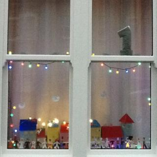 Advent window number one