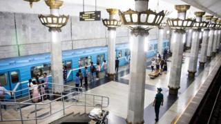 مترو أنفاق أوزبكستان