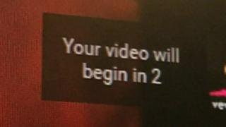 """Your video will begin in 2"""