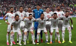 تیم ملی فوتبال ایران در بازی با چین