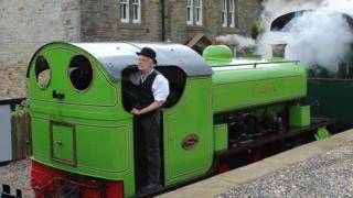 South Tynedale Railway locomotive