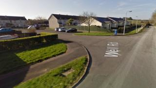 The incident happened at a property in Meadow Park in Ballywalter.